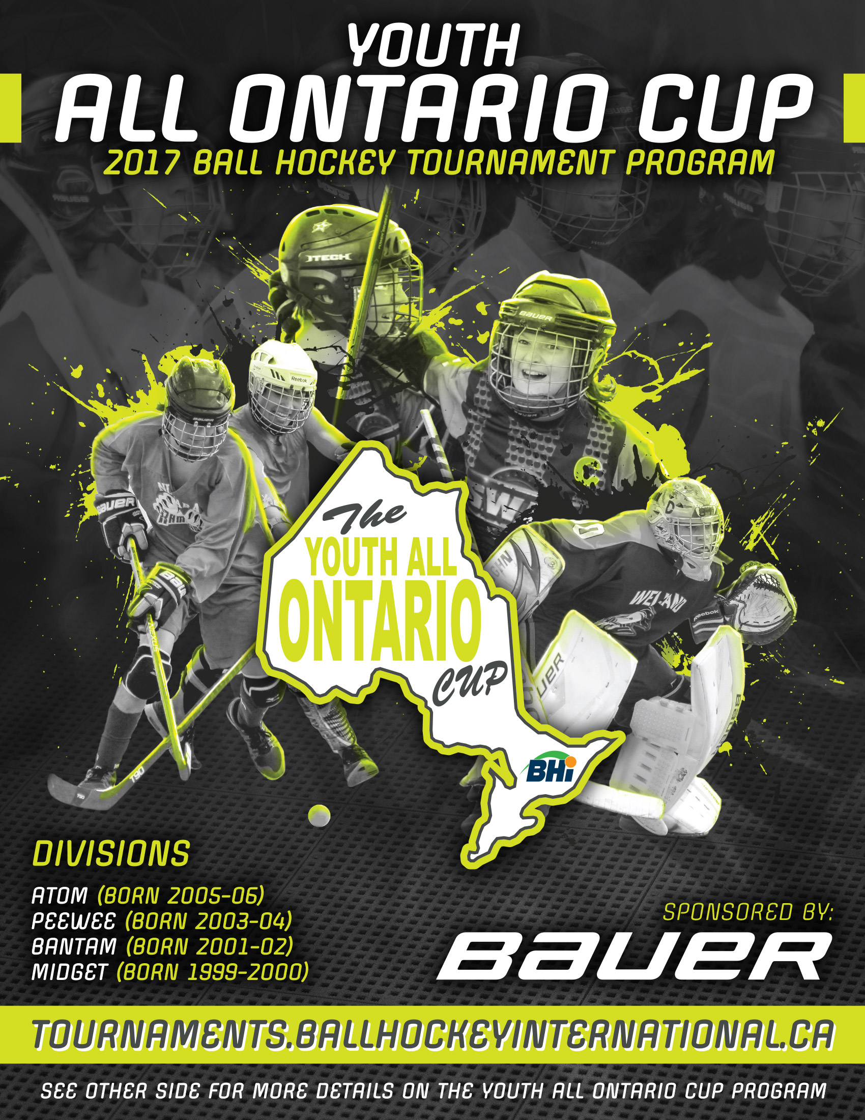 Youth All Ontario Cup Bhi Tournaments